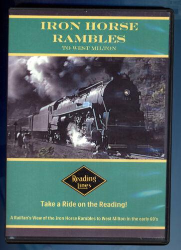 Reading Lines Iron Horse Rambles to West Milton  -  Railroad - Train - DVD