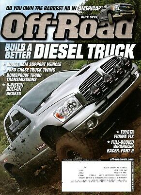 Off-Road Magazine July 2011 Build a better Diesel