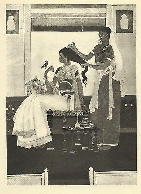 Hiramon by Surnedra Nath Kar. Illustration From The Studio, 1925