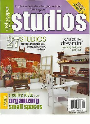 Art Craft Ideas (CLOTH PAPER SCISSORS,STUDIOS, SPRING, 2012 ( INSPIRATION & IDEAS FOR ART &)