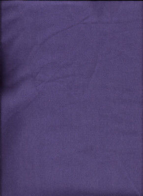 New Dark Purple Ultra Soft Flannel Solid Fabric by the Quarter Yard
