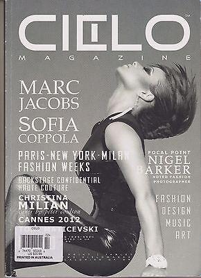 CIELO AUSTRALIAN MAGAZINE #2 2012, MARC JACOBS, FASHION, DESIGN, MUSIC & ART.