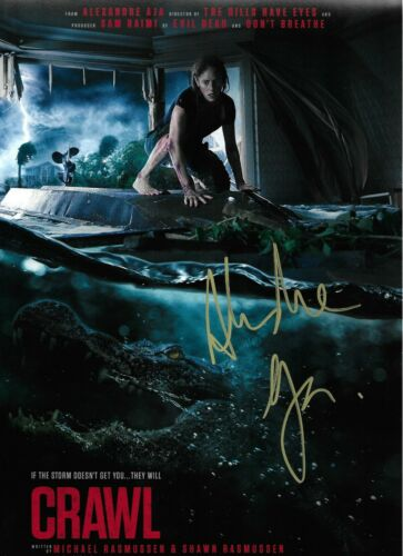 Alexandre Aja Signed Crawl 12x8 Photo AFTAL