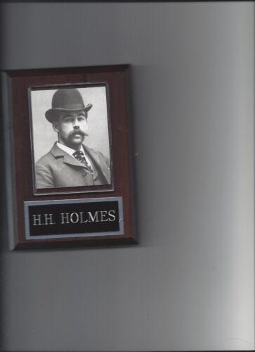 H.H. HOLMES PLAQUE CRIME CON ARTIST MURDERER
