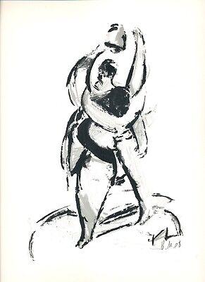 LEIPZIGER SCHULE original Grafik Benjamin Meinberg (1983)_2