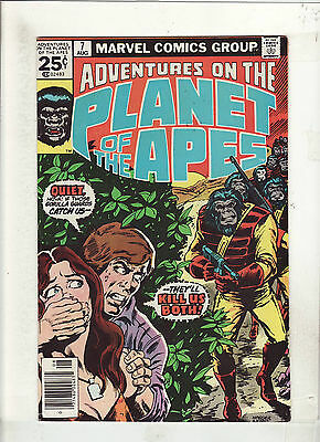ADVENTURES ON THE PLANET OF THE APES #7 VF+