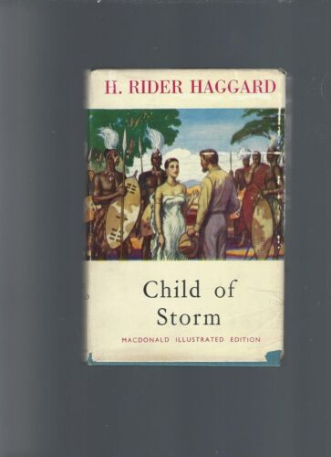 CHILD OF STORM, HAGGARD, 1958,  macdonald   * ( free shipping )