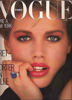 Vogue Paris 1983 NEW YORK Issue-Guy Bourdin-Horst-George Burrell-Joan Severance