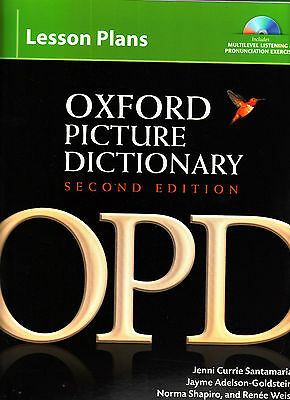 OXFORD PICTURE DICTIONARY LESSON PLANS Instructor planning resources @NEW@ ()