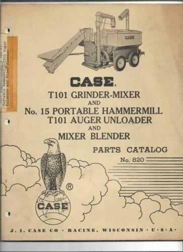 OEM Case T101 Grinder Mixer Blender Auger Unloader 15 Hammermill Parts Catalog