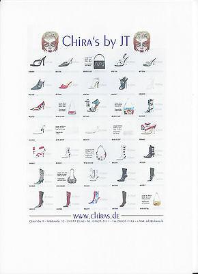 extrem auffallende Italy Designer High Heels Stilettos
