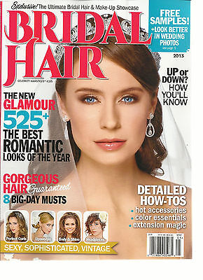 CELEBRITY HAIR STYLES, BRIDAL HAIR, 2013(THE NEW GLAMOUR 525 + THE BEST ROMANTIC