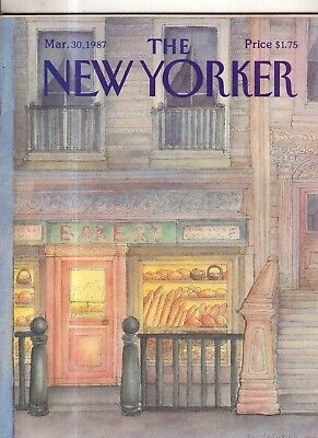 1987 New Yorker March 30 - Greenwich Bakery - Van Rynbach