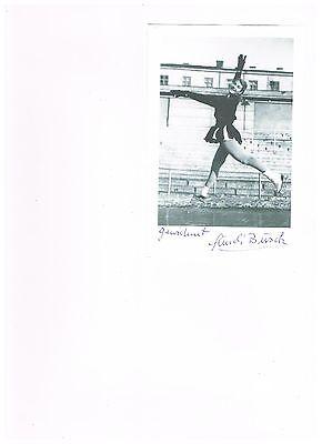Gundi Busch - Weltmeisterin im Eiskunstlauf 1954 für Deutschland - verstorben!