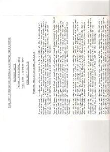 York City v Grimsby Town 1980 friendly programme teamsheet