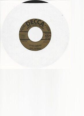 "LEROY ANDERSON - 45 -        ""  BLUE  TANGO  ""         VG+"