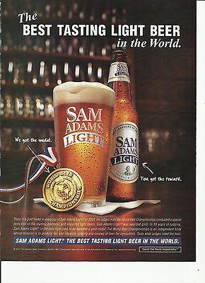 The BEST TASTING LIGHT BEER in the World - Sam Adams Light Beer - '04 Beer