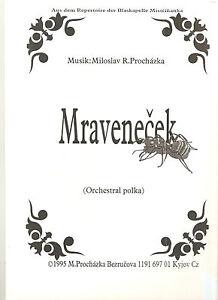 Blasmusiknoten Mravencek / Die kleine Ameise - <span itemprop=availableAtOrFrom>Bad Ischl, Österreich</span> - Blasmusiknoten Mravencek / Die kleine Ameise - Bad Ischl, Österreich