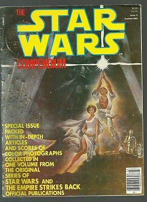 VINTAGE 1982 (SUMMER) STAR WARS COMPENDIUM MAGAZINE