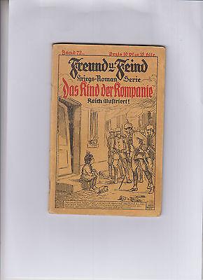 Freund und Feind Nr. 72 Original 1914 Verlagsanstalt Vogel & Vogel Guter Zustand