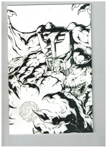 TRANSFORMERS BEAST WARS THE GATHERING #3 SKETCH COVER 2006 IDW