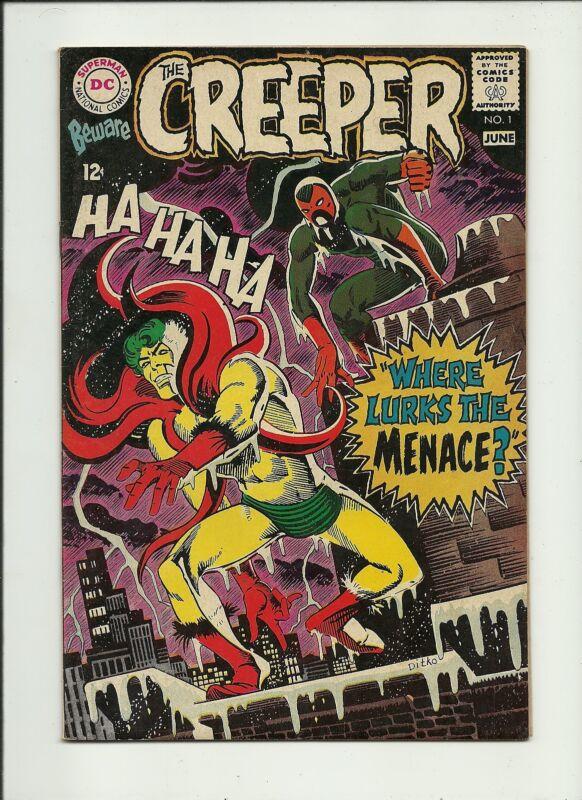 BEWARE THE CREEPER 1968 DC COMIC SILVER AGE DITKO ART  HIGH GRADE