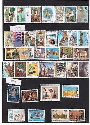 REPUBBLICA  1995-1998 Resti di collezione (inserzione multipla)