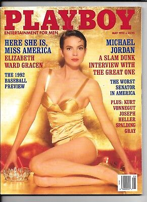 Back Issue May 1992 Playboy Magazine   Anna Nicole Smith Playmate   Excellent