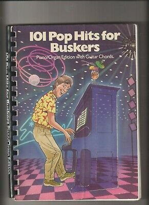 Rock /& Pop Hits For Buskers Learn to Play Keyboard Guitar Chords Music Book