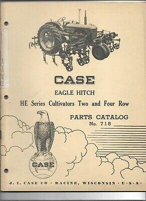 Original 121953 Case Eagle Hitch He Series 2 4 Row Cultivators Parts Catalog