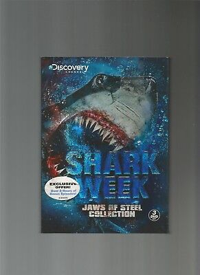 Shark Week - Jaws Of Steel Collection (3 Disc Set), DVD, used for sale  Hanover