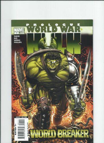 Marvel Comics World War Hulk Prologue World Breaker One Shot NM-/M 2007