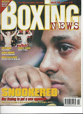 Prince Naseen Hamed Boxing News May 1998 Magazine No Label
