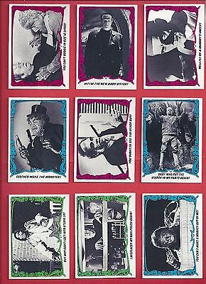 1980 YOU'LL DIE LAUGHING / CREATURE FEATURE Starter set 44 of 88 nm to mint