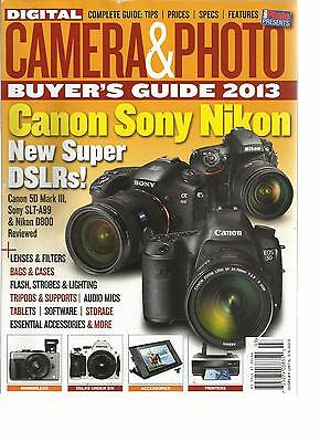 DIGITAL CAMERA & PHOTO, BUYER'S GUIDE, 2013   NOVEMBER, 2012 ( COMPLETE GUIDE  )