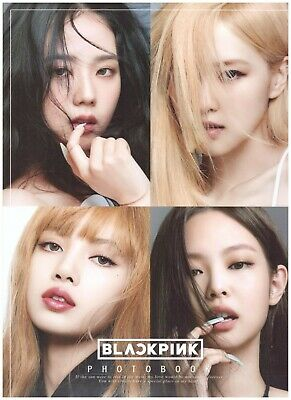 Black Pink Photo Book Collection 08 (A4 Size) K-POP