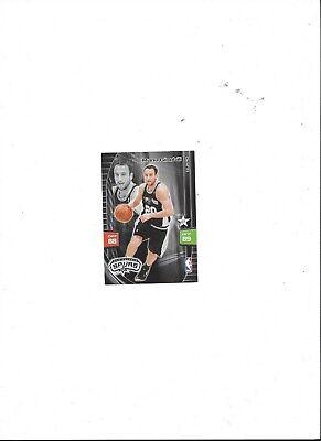 Manu Ginobili - San Antonio Spurs, NBA Panini Adrenalyn Trading Card 2010 Manu Ginobili Nba