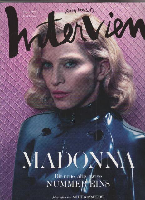 Andy Warhols Interview März 3/2015 Madonna