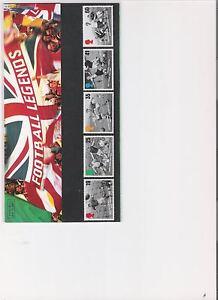 1996-ROYAL-MAIL-PRESENTATION-PACK-FOOTBALL-LEGENDS-MINT-DECIMAL-STAMPS