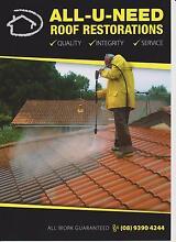 All-U-Need Roof Restorations Kelmscott Armadale Area Preview