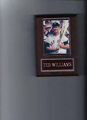- TED WILLIAMS PLAQUE BASEBALL BOSTON RED SOX MLB