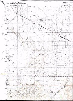 1959(1971) Valyermo, California USGS Topographic Map