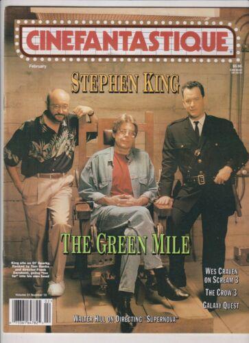 Cinefantastique Stephen King Tom Hanks Frank Darabont Février 2000 121019nonr
