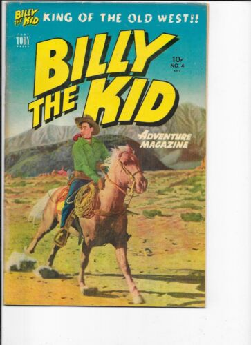 Billy the Kid  #4