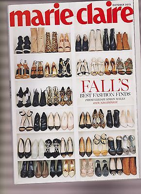MARIE CLAIRE MAGAZINE OCT 2015, FALL BEST FASHION FINDS, NEW NO LABEL.