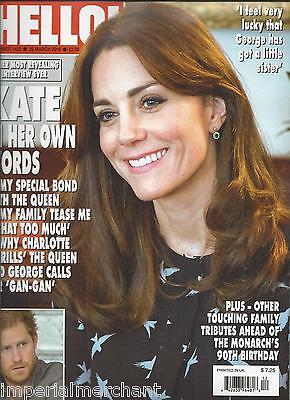 Hello Magazine Kate Middleton Prince Harry Tom Parker Jungle Book Elsa Pataky