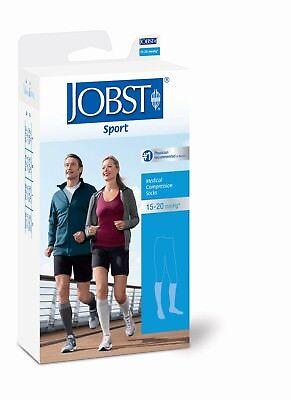 Jobst Sport Knee High Support Socks 15-20 mmHg Compression M