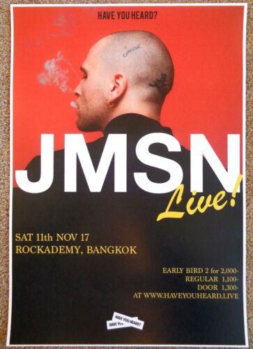 JMSN 2017 Gig POSTER Bangkok Thailand Christian Berishaj Concert