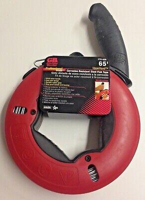 Gardner Bender Fts-65r 65 X 18 Corrosion Resistant Steel Fish Tape Usa