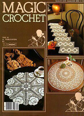 Шаблоны Vintage Magic Crochet Number 24
